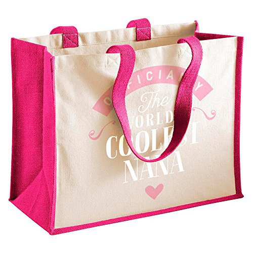 Tote Bag Shopping From Birthday Gifts Nana Funny Daughter Bag Keepsake Fuchsia Personalised Great Present fuchsia Gift Gifts S7EExqwOH