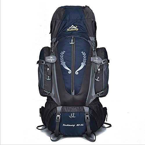 JIN サスペンションブラケット 登山バッグ キャリーシステム アウトドア バックパッキング バックパック  ディープブルー B01GR0J5O8