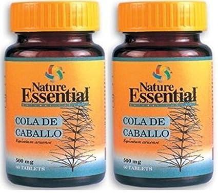 Cola de Caballo 500mg 60 Tabletas. Nature Essential (Pack 2u.)