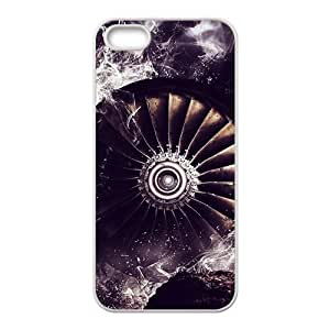LJF phone case Abstract design Phone Case for iPhone 5S(TPU)
