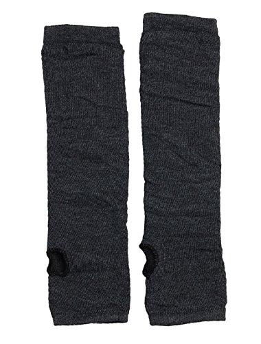 Modern Ladies Long Arm Fingerless Warmer Gloves