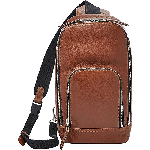 Fossil Mayfair Leather Slingpack Backpack