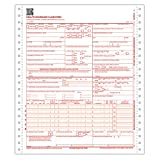 ComplyRight CMS 1500 Healthcare Billing Form - 02/12, 1-Part Continuous, 2500-Count (CMS121)