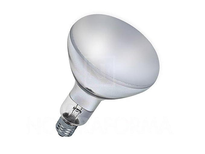 Lampada r125 reflector e27 150w 230v ricambio parentesi flos 35