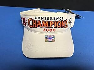 2000 Nike NFL Football BALTIMORE RAVENS AFC Conference Champions VISOR Cap Hat