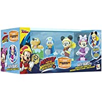 IMC Toys- Mickey Mouse Pack 4 Figuras baño