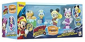 IMC Toys 182776 - Preescolar Pack 4 Figuras baño Mickey