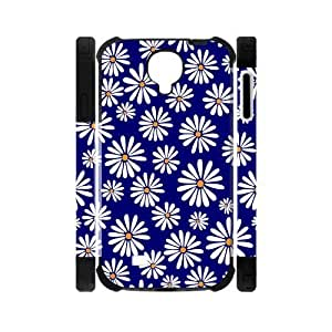 Canting_Good,Retro Floral Daisy, Custom Dual-Protective Case for Samsung Galaxy S4 I9500 3D
