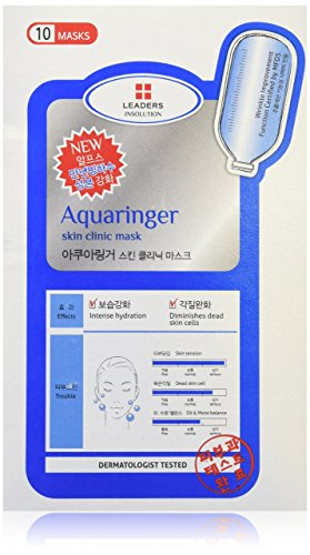 Leaders Clinic Aqua Ringer Skin Mask, 10 Piece