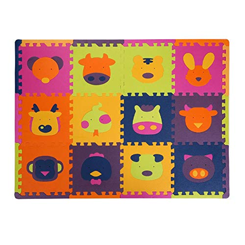 Amazon.com: vannert Babys Crawling Mat Foam Thickened ...