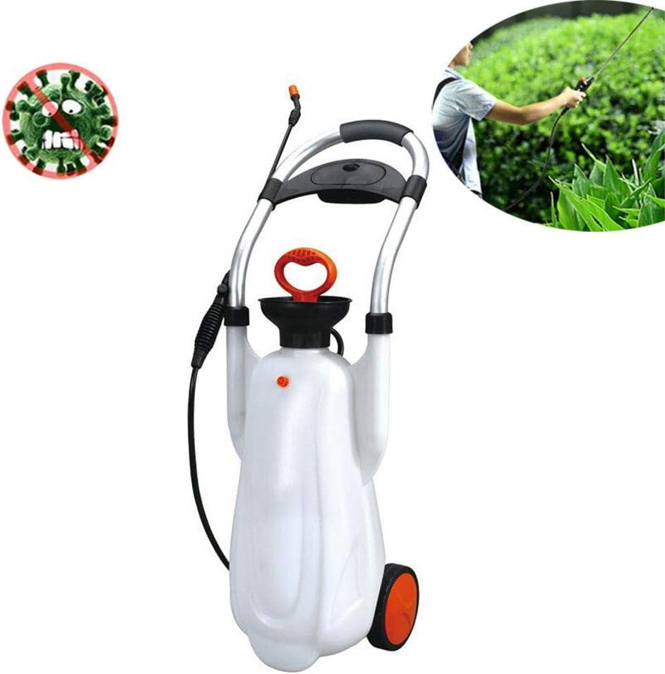 WHYTT 16L riego portátiles Pueden Jardín pulverizador pulverizador a presión, Ideal con Herbicida, Regar Las Flores, el Hotel del Hospital Escuela de desinfección PP, PE