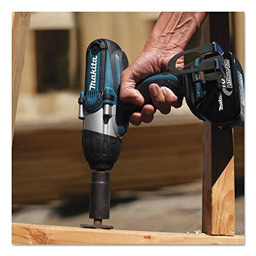 "Makita XWT041X 3.0Ah 18V LXT Lithium-Ion Cordless 1/2"" Square Drive Impact Wrench Kit"