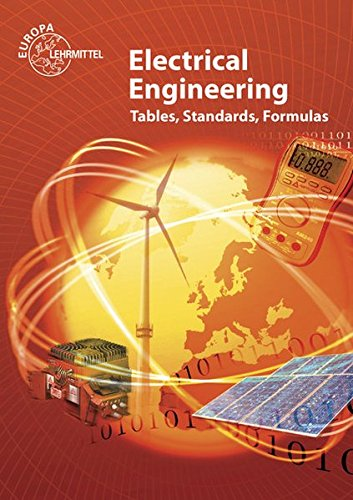 Electrical Engineering Tables, Standards, Formulas