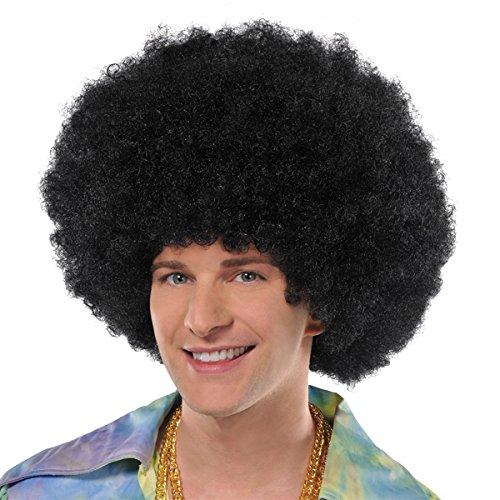 Amscan Oversized Afro Wig - 70s Sensation, 3