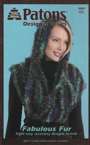 Fabulous Fur (Patons Designer Series Knit Patterns, #500802)