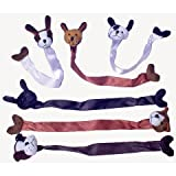 U.S. Toy Plush Dog Bookmarks (Party Favor Pack: 24 Count)