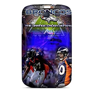 Shock Absorbent Cell-phone Hard Covers For Samsung Galaxy S3 With Support Your Personal Customized Stylish Denver Broncos Image DrawsBriscoe