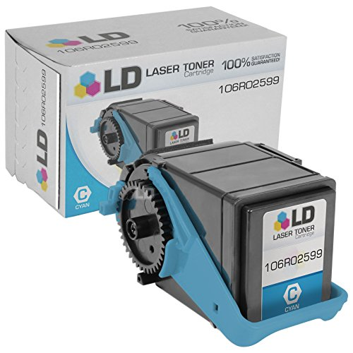 LD Compatible Replacement for Xerox 106R02599 Cyan Laser Toner Cartridge for use in Xerox Phaser 7100 Printer