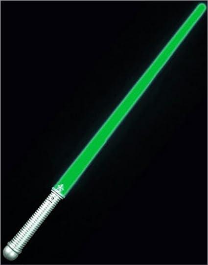 Buy Green LED Lightsaber Glowing Toy Costume Light Saber