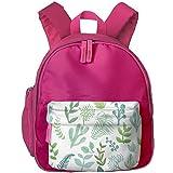 Children Leaf Pre School Backpack School Bag Pink