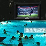 Outdoor Movie Screen – 22 FT Inflatable Projector