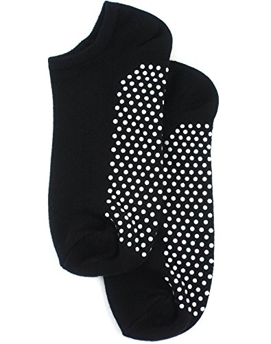 Non Slip Skid Socks with Grips, For Hospital, Yoga, Pilates,black
