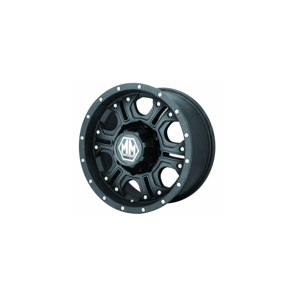 Mayhem Havoc 8020 Matte Black Wheel (17x8/6x139.7mm)