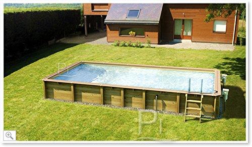 piscine bois rectangulaire 6x4