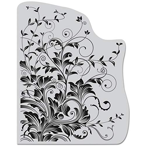 Hero Arts CG509 Cling Stamps, Leafy -