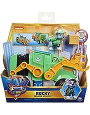 PAW Patrol De Film - Rocky - Speelgoedvoertuig met actiefiguur