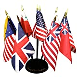 Flags of Our Country Miniature Flag Kit (4 in. x 6 in. flag / 10 in. staff)