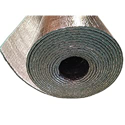 Car Insulation - 4' x 10' Roll (40 Sqft) Sound Deadener & Heat Barrier Mat - Automotive Lightweight Thermal Insulation