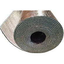 Car Insulation - 4' x 75' Roll (300 Sqft) Sound Deadener & Heat Barrier Mat - Automotive Lightweight Thermal Insulation