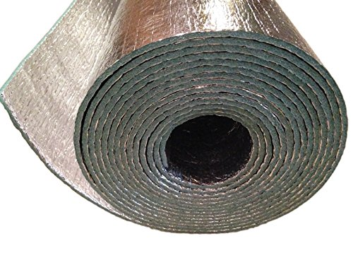 (Car Insulation - 4' x 10' Roll (40 Sqft) Sound Deadener & Heat Barrier Mat - Automotive Lightweight Thermal Insulation)