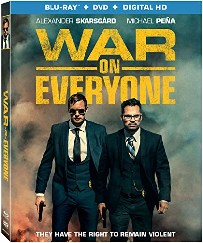 Blu-ray : War on Everyone (With DVD, Ultraviolet Digital Copy, Widescreen, AC-3, Digital Theater System)