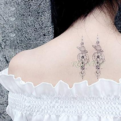 ljmljm 5pcs Tatuaje Impermeable Etiqueta engomada Elegante de la ...