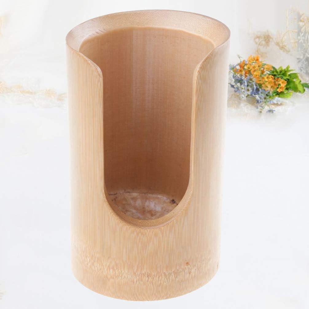 Cabilock misura L Portabicchieri in bamb/ù naturale 1 pezzo