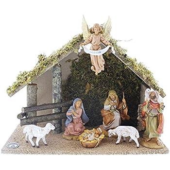 Fontanini By Roman Figure Centennial Nativity Set With Italian 7 Piece 5 Inch