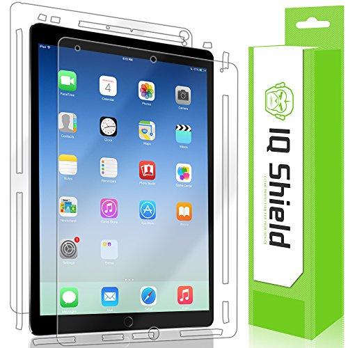 iPad Pro Screen Protector, IQ Shield LiQuidSkin Full Body Skin + Full Coverage Screen Protector for iPad Pro (10.5,2017) HD Clear Anti-Bubble Film