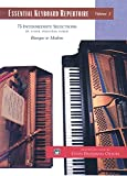 Essential Keyboard Repertoire, Vol 2: 75 Intermediate Selections in their Original form - Baroque to Modern, Comb Bound Book (Alfred Masterwork Edition: Essential Keyboard Repertoire)