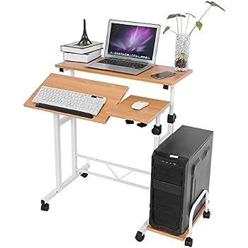 Amazon Com Mobile Computer Desks Keyboard Tray