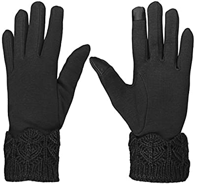 KMystic Womens Touch Gloves Winter Lined Texting Gloves