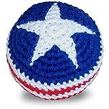 World Footbag USA Flag Hacky Sack Footbag
