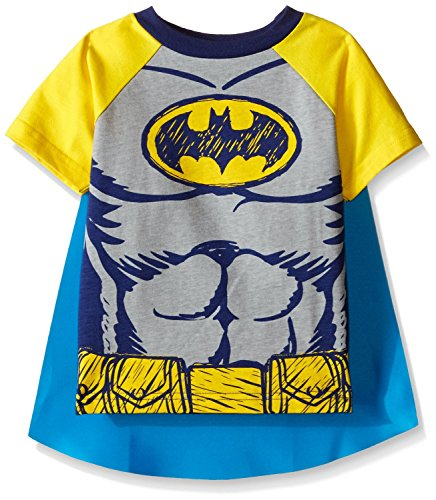 Warner Brothers Boys' Batman Cape Tee Set