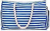 Beach Bag w 100% Waterproof Phone Case, Cotton Rope Handles, Top...