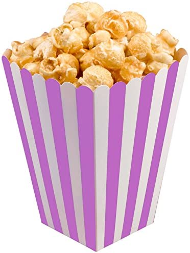 Neviti 678405 Carnaval caja de palomitas de maíz, color morado ...