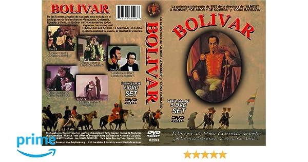 Amazon.com: Bolivar: Mariano Alvarez, Liz Ureta, Angel Acosta, Luis Pardi, Agustin Torrealba, Betty Kaplan: Movies & TV