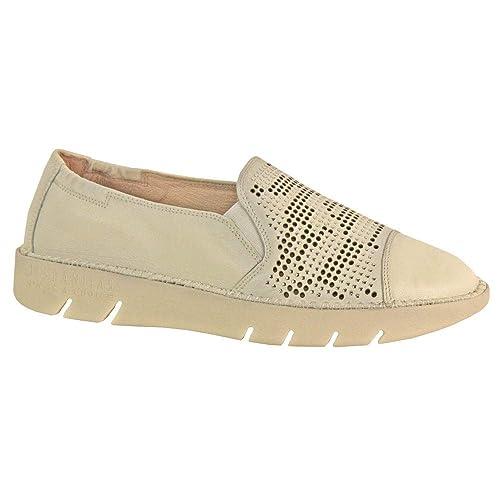 11c9b888fa1b6 Hispanitas Slip On Trainer Shoe - 98900: Amazon.es: Zapatos y complementos