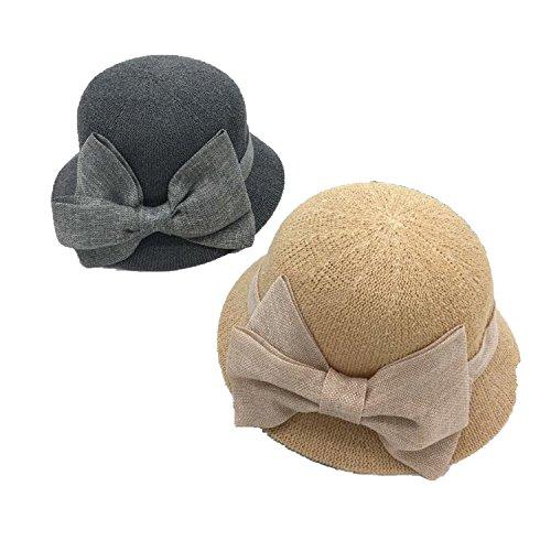 Ablaze Jin Flowers Dome Small Basin Outdoor Visor Sunshade Wild Tide Hats,Khaki