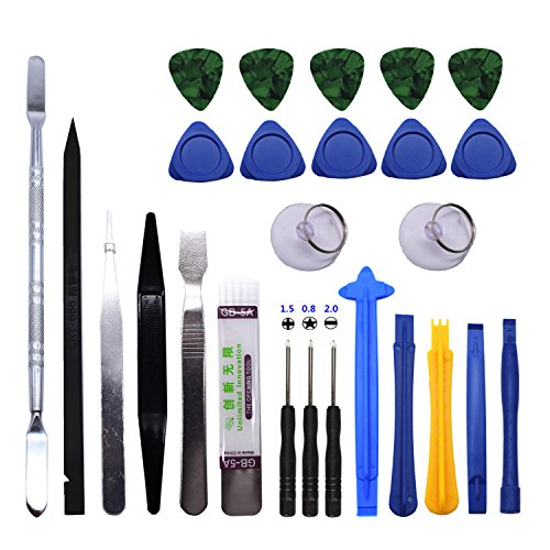 TXINLEI 26 in 1 Professional Opening Pry Tool Repair Kit for Mobile Phone Hand Tools Set ()